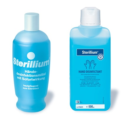 Sterillium - Synonym for hand disinfectants