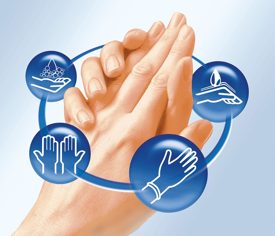 Your all-in-one solution for hand disinfection
