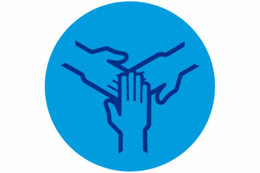Illustration Sterillium® Hands togetherness