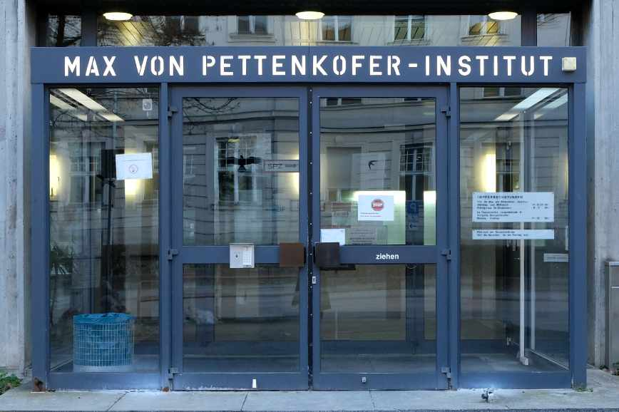 The Max von Pettenkofer-Institute in Munich